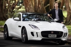 Jaguar sales manager Paul Ricketts says most of the 30 F-type coupe series Jaguars allocated to NZ have already sold. Photo / Doug Sherring