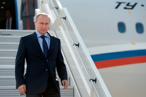 Vladimir Putin is under pressure after the MH17 tragedy. Photo / AP