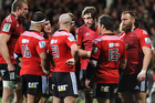 The Crusaders are the only New Zealand team in this year's Super Rugby semifinals. Photo / Getty Images