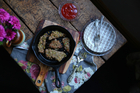 Crispy seed & herb crumbed schnitzel. Picture / Eleanor Ozich