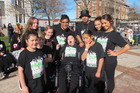 Dancers from the week-long camp out in Wanganui with Shenaragh Nemani.