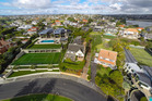 A view of some of the homes on Paritai Drive in Auckland. Photo / Jason Dorday