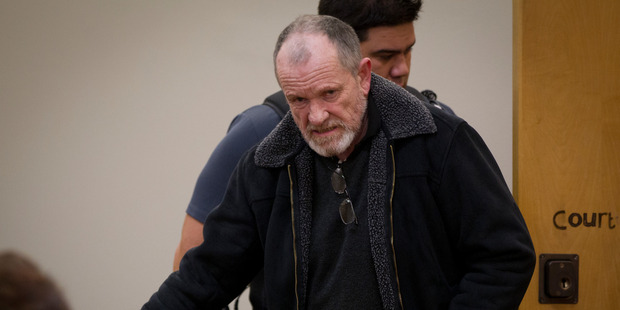 Peter James Edwards in the dock at Auckland District Court. He's been jailed for six years. Photo / NZ Herald file