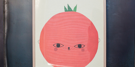 Fine Little Day tomato Print. Photo / Maya Vidulich.