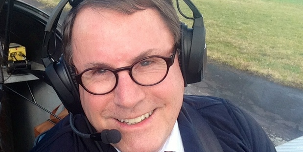 John Banks heads out to Ardmore and into the skies most weeks.