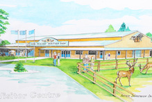 FARM LIFE: An artist's impression of the New Zealand Heritage Farm visitor centre.