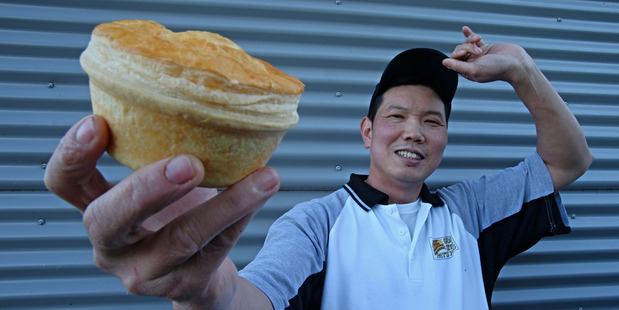 Tauranga star Pat Lam of Patrick's Pies is in the running again for the 2014 Bakels New Zealand Supreme Pie Awards. Photo: John Borren