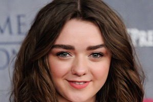 Actress Maisie Williams hints at series 5 filming for Game of Thrones. Photo / AP