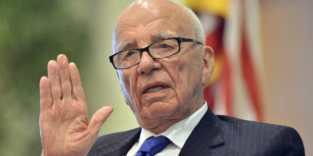 News Corporation CEO Rupert Murdoch. Photo / AP