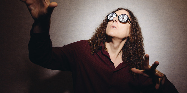 Comedic singer Weird Al Yankovic. Photo / AP