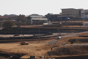 A partial view of the Kyalami race track is seen Thursday July 24, 2014 north of Johannesburg. The South African unit of sports car maker Porsche bought the Kyalami race track for $19.5 million.