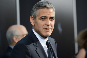 George Clooney speaks about his online spat with the Daily Mail. Photo / AP