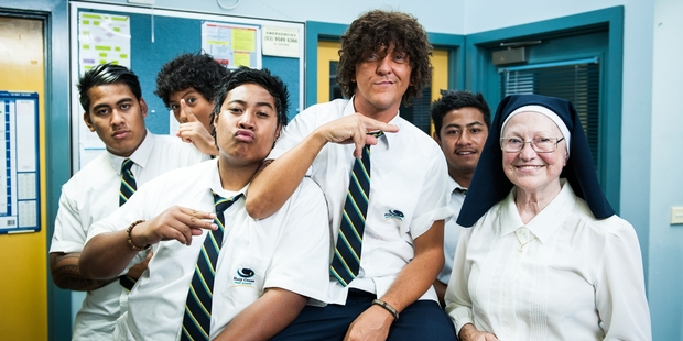 Chris Lilley in his new series 'Jonah from Tonga'.