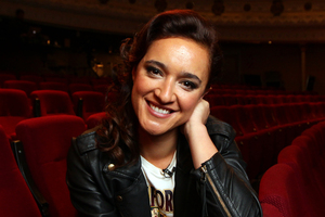 Keisha Castle Hughes has been cast in Game of Thrones' fifth season as one of the Sand Snakes. (Herald on Sunday photograph by Doug Sherring)