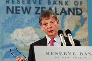 Reserve Bank Governor Graeme Wheeler said this morning that the economy appears to be adjusting to this year's monetary policy tightening.  Photo / Mark Mitchell