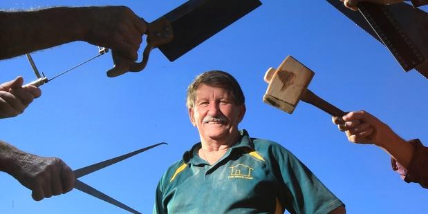 TrustPower Tauranga Community Awards 2013 supreme winners: The Mens Shed. David Harper.