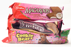 Popular Griffin's brands include: Macaroon, Toffee Pops and Cookie Bear biscuits. Daily Post photograph/Stephen Parker