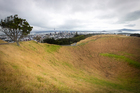 The summit of Mt Eden. Photo / Natalie Slade