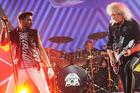 Queen and Adam Lambert performing in Chicago last month.