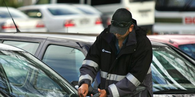 The man accused of assaulting a parking warden will contest the charge laid against him. Photo / Brett Phibbs