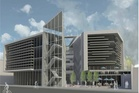 An artist's impression of the proposed Tauranga city tertiary education campus. Photo/file
