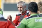 Crusaders coach Todd Blackadder. Photo / Geoff Sloan
