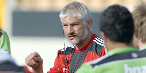 Loading Crusaders coach Todd Blackadder. Photo / Geoff Sloan