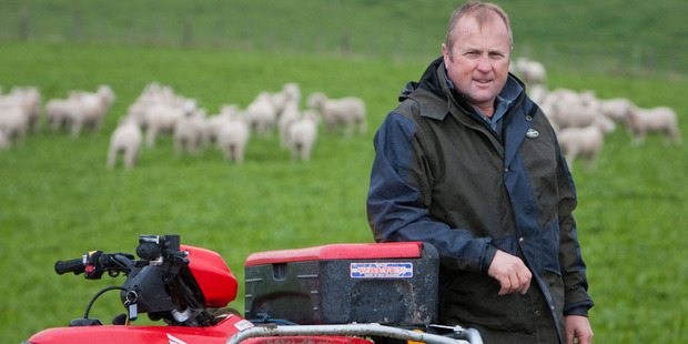 GRASS ROOTS: Special trade envoy and Waipukurau farmer Mike Petersen says New Zealand will not sell its soul for the Trans-Pacific Partnership free trade agreement. PHOTO/GLENN TAYLOR