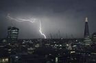A spectacular lightning storm struck the UK overnight Friday. Images of lightning strikes over the Shard and Tower Bridge in central London.