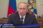Russian President Vladimir Putin says Ukraine is responsible for the crash of a Malaysian airline carrying 298 people in the strife-torn east of the former Soviet state.