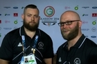 NZ weightlifters Stanislav Chalaev and Richie Patterson are both aiming to go one better in Glasgow, after claiming Silver in Delhi.