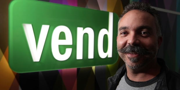 Vaughan Rowsell, of software firm Vend, is up for the Entrepreneur of the Year title. Photo / Jason Oxenham