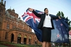 Valerie Adams has been spending some extra time at the gym in preparation for her role as New Zealand's flag bearer for the Commonwealth Games' opening ceremony. Adams was this morning (NZT) awarded the honour at a team function inside the majestic Kelvingrove Art Gallery and Museum in Glasgow, following in the recent footsteps of the likes of Sarah Ulmer (2002), Hamish Carter (2006) and Irene van Dyk (2010).