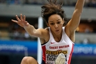 Katarina Johnson-Thompson has pulled out of the Games. Picture / AP