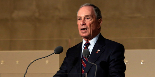 Former New York Mayor Michael Bloomberg has called for the flight ban to Tel Aviv to be lifted. Photo / Getty