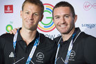 Dean Couzins and Phil Burrows are competing in their fourth Commonwealth Games. Photo / Greg Bowker