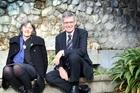 Catherine Delahunty and David Clendon are impressed with Wanganui Education.  Photo/Stuart Munro