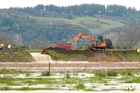 Stopbanks provide flood protection for millions of dollars' worth of farmland and property in the region. Photo / File