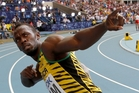 Jamaica's Usain Bolt will  run only in the 4x100m relay in Glasgow. Photo / AP