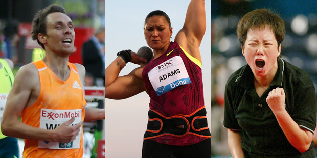 Nick Willis, Valerie Adams and Li Chun Li are three stars to keep an eye on.