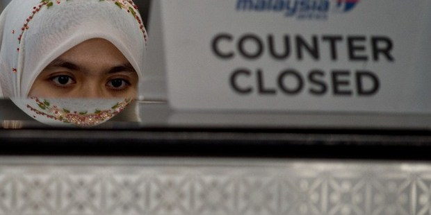 The two disasters this year are having an effect on Malaysia Airlines staff. Photo / AFP
