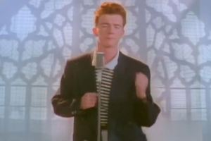 The viral 'rickrolling' phenomenon helped revive the Eighties singer's career.