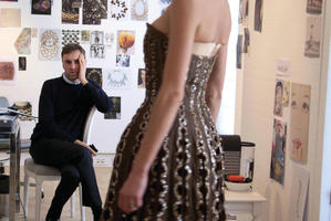 Raf Simons in Dior and I. Picture / Supplied