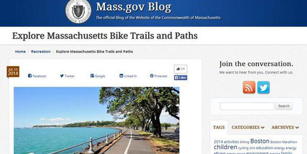 Explore Massachusetts! It looks a lot like Auckland! Photo / Twitter
