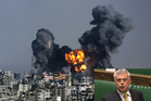 British MP David Ward, inset, has tweeted that he would fire a rocket if he lived in Gaza. Photo: AP