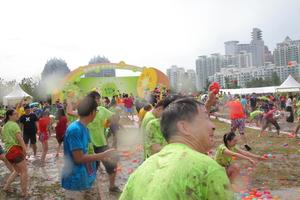 Zespri's Chinese water fight. Photo/supplied