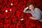 The 5000 poppies NZ project. Photo / Dean Purcell