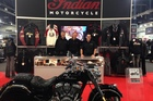 Indian Motorcycles have been crowned the 'Exhibitor of the Year' after this month's Speedshow. Photo / Supplied
