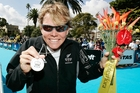 MEDAL MOTIVATION: Samantha Warriner, who won silver in the women's triathlon at the Commonwealth Games in 2006, will be the official flagbearer for the Educare Commonwealth Games. PHOTO/FILE