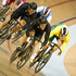 New Zealand's Sam Webster attacks in the Men's Keirin at the Sir Chris Hoy Velodrome in Glasgow. Photo / Greg Bowker